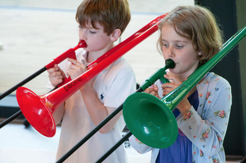 Top tips for helping your child with trombone practice and lessons!