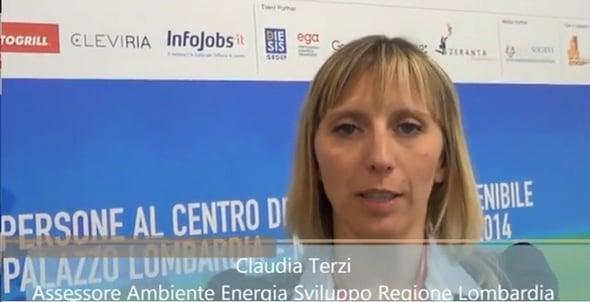 Intervista Claudia Maria Terzi – Regione Lombardia