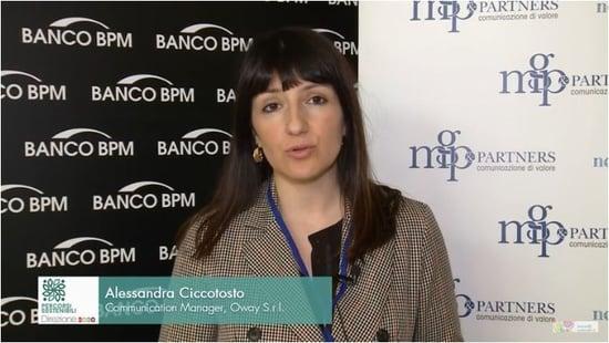 Alessandra Ciccotosto - Percorsi Sostenibili: Direzione 2030