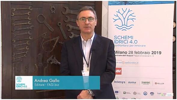 Andrea Gallo - Schemi idrici 4.0: confrontarsi per innovare