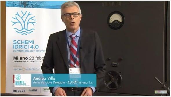Andrea Villa - Schemi idrici 4.0: confrontarsi per innovare