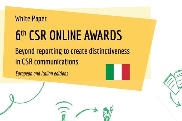 CSR Online Awards 2014: le migliori aziende nella comunicazione online della sostenibilità