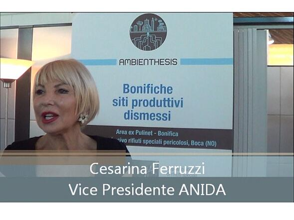 Speciale Ecomondo: intervista a Cesarina Ferruzzi, ANIDA