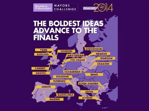Challenge 2014: tra le città finaliste anche Firenze e Bologna