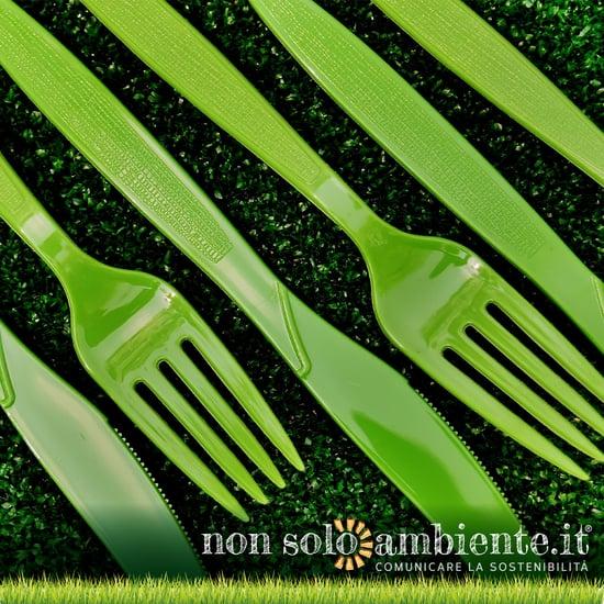 Basta plastica monouso: UE abolisce piatti e posate dal 2021
