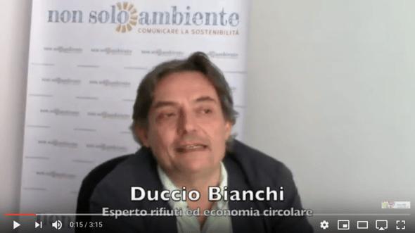 Duccio Bianchi comitato scientifico Nonsoloambiente