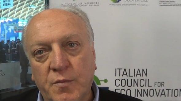 Ecomondo 2015 - Intervista a Edo Ronchi, Fondazione Sviluppo Sostenibile