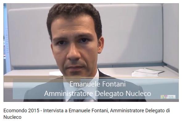 Ecomondo 2015 - Intervista a Emanuele Fontani, Amministratore Delegato Nucleco