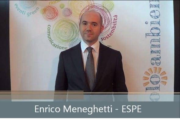 Speciale Ecomondo: intervista a Enrico Meneghetti ESPE