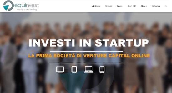 Equinvest: nasce il primo portale online di equity crowdfunding e venture capital
