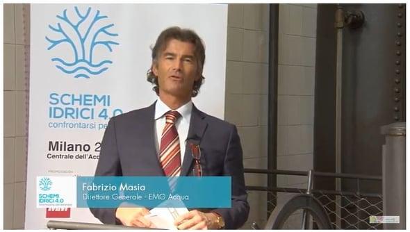 Fabrizio Masia - Schemi idrici 4.0: confrontarsi per innovare
