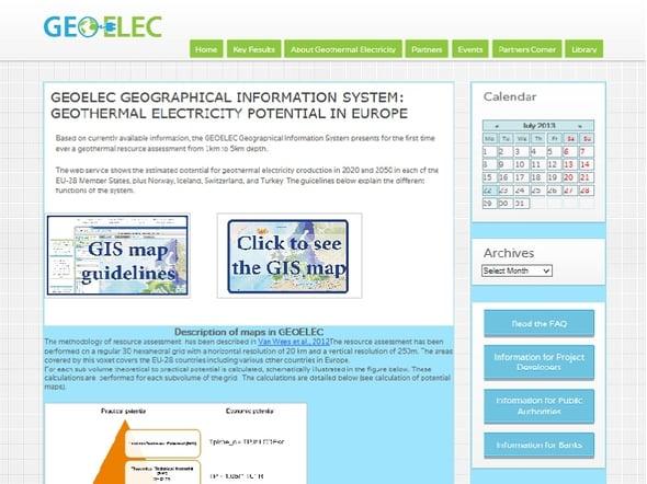 Geotermia: potenziale dimostrato tramite il Geoelec
