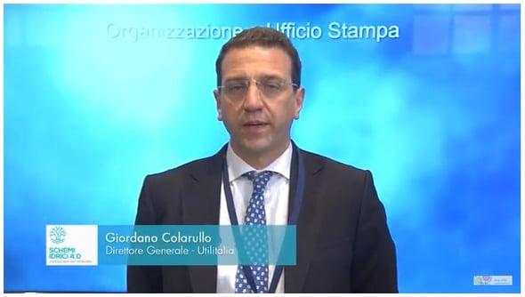 Giordano Colarullo - Schemi idrici 4.0: confrontarsi per innovare