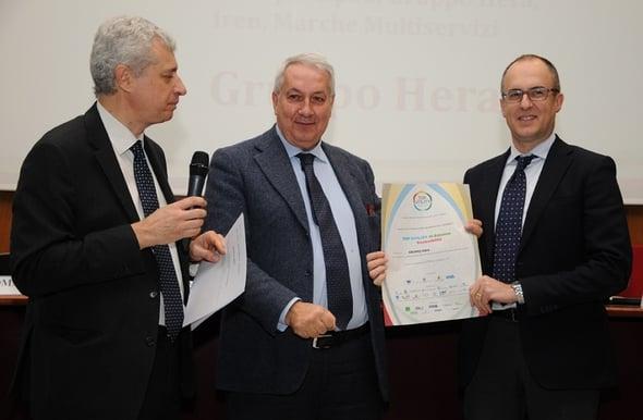 Hera nominata migliore utility italiana nella categoria sostenibilità