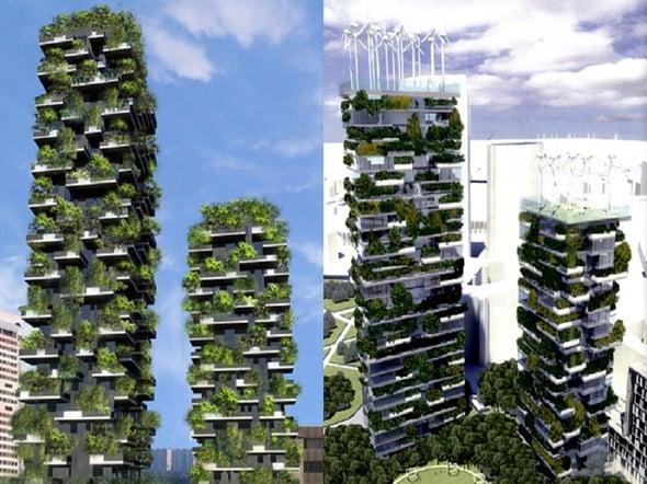 Il Bosco Verticale di Milano è il grattacielo più green e più bello del mondo