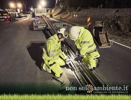 Svezia: la strada che ricarica le auto elettriche