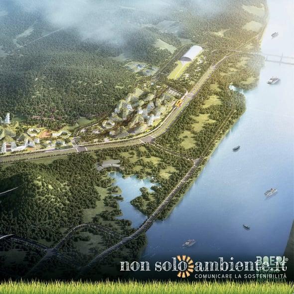 La prima città-foresta in Cina (made in Italy)