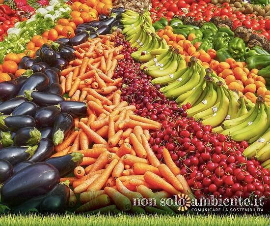 Frutta e verdura: nel 2017 record dei consumi