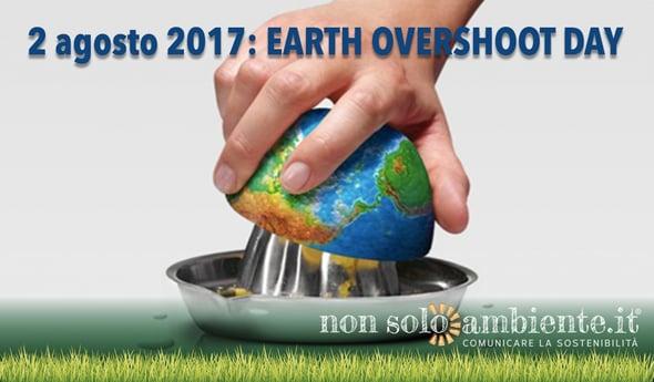 Earth Overshoot Day: vivere a credito con le risorse del Pianeta