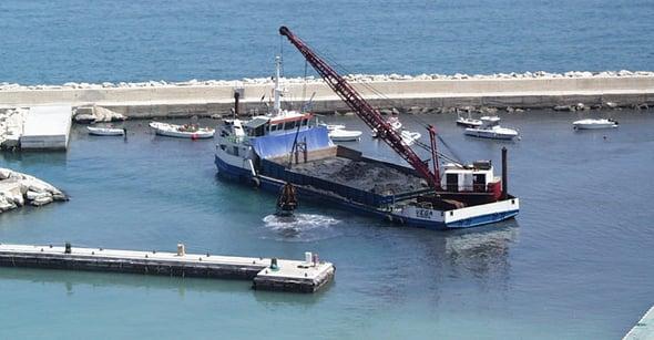 Scavi di fondali marini: un occhio di riguardo per l'ambiente
