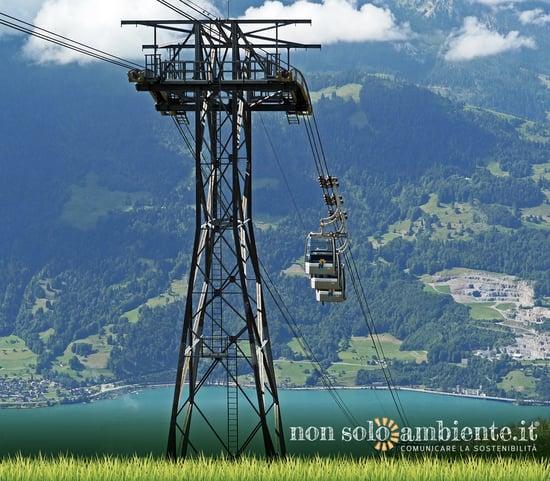 Nuova funivia solare in Svizzera