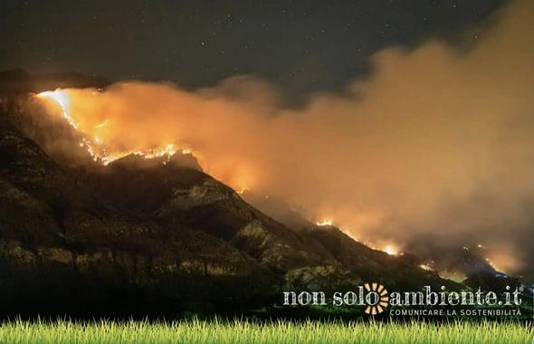 Un bilancio degli incendi in Piemonte