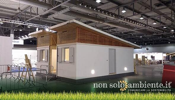 Prototipo Abitativo Emergenze, a Legno&Edilizia la casa studiata per i terremotati