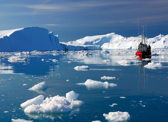 """Studio NASA: """"grazie"""" al riscaldamento globale l'Artico sta diventando verde"""