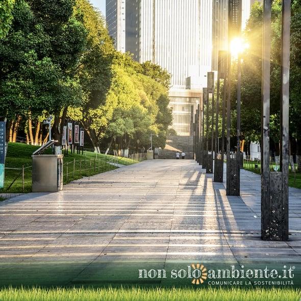 La gestione degli spazi verdi in città