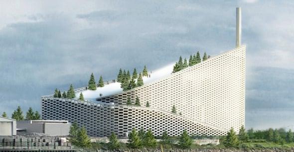 Edifici ecosostenibili: in Danimarca un inceneritore diventa attrazione sportiva