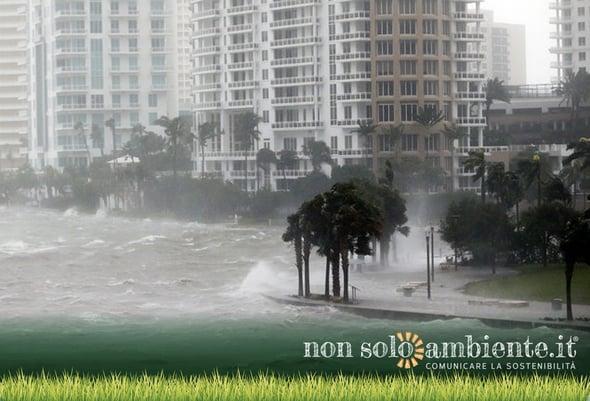 Gli uragani nell'era del riscaldamento globale