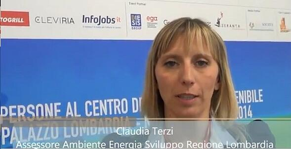 Intervista Claudia Maria Terzi - Regione Lombardia