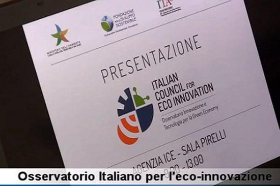 Italian Council for Eco Innovation: un Osservatorio a supporto delle imprese green