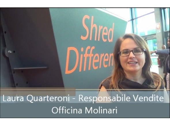 Speciale Ecomondo: intervista a Laura Quarteroni - Officina Molinari