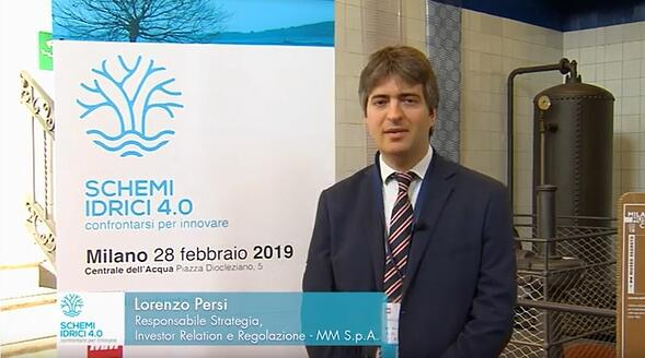 Lorenzo Persi - Schemi idrici 4.0: confrontarsi per innovare