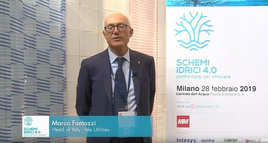 Marco Fantozzi -Schemi idrici 4.0: confrontarsi per innovare