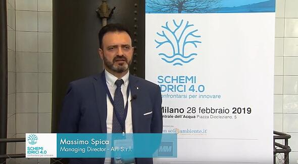 Massimo Spica - Schemi idrici 4.0: confrontarsi per innovare