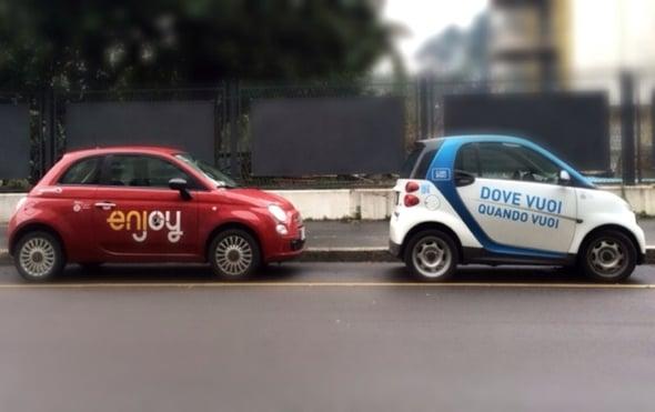 Milano: tutti pazzi per il car sharing!