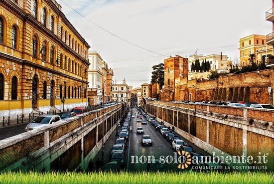 Mobilità sostenibile e taglio di emissioni: i numeri di una Roma con meno auto