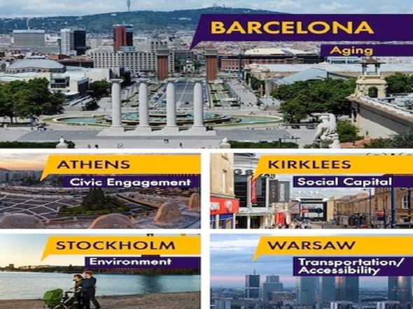 Barcellona premiata miglior smart city dal Mayors Challenge 2014