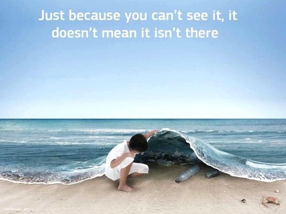 Rifiuti in mare: il primo nemico è la plastica