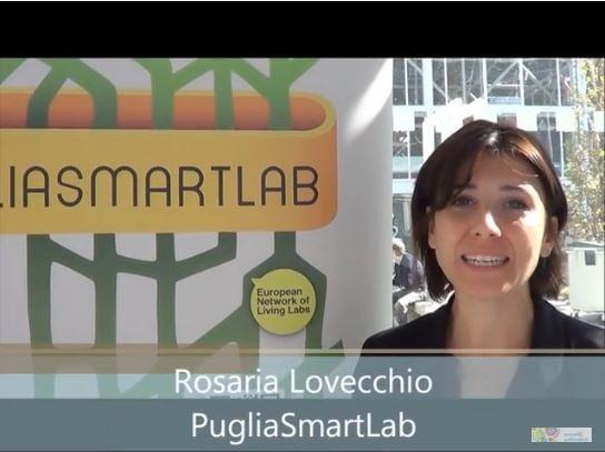 Intervista a Rosaria Lovecchio, PugliaSmartLab