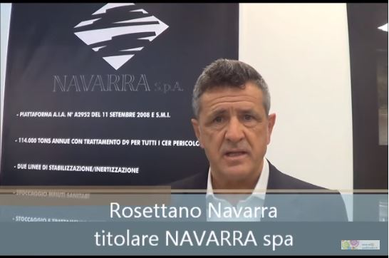 Speciale Ecomondo: intervista a Rosettano Navarra della Navarra Spa