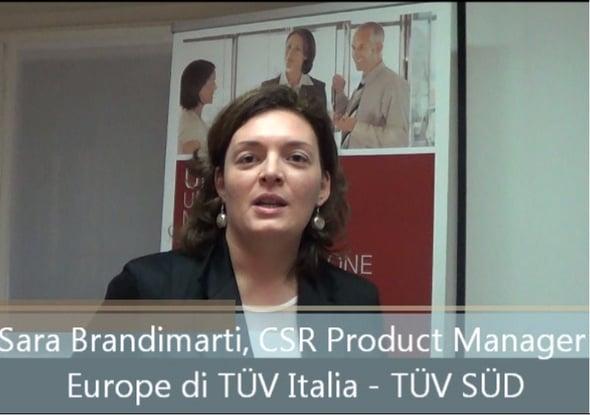 La CSR nell'era digital: intervista a Sara Brandimarti – TÜV Italia srl