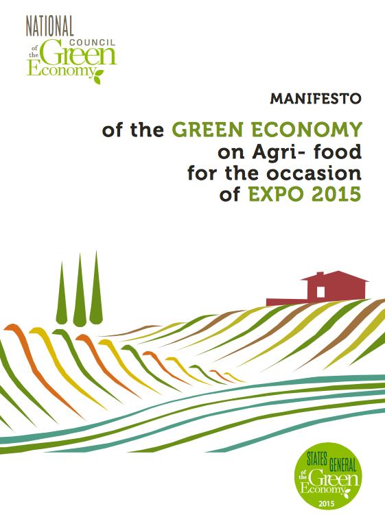 Agroalimentare: presentato il Manifesto della green economy