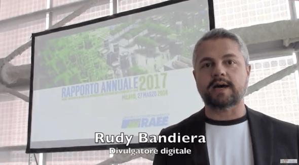 Intervista a Rudy Bandiera sui RAEE