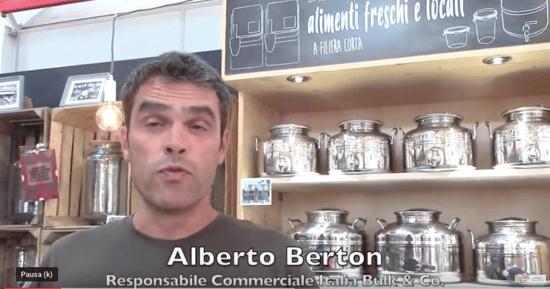 Alberto Berton, Resp. Commerciale Italia di Bulk & Co
