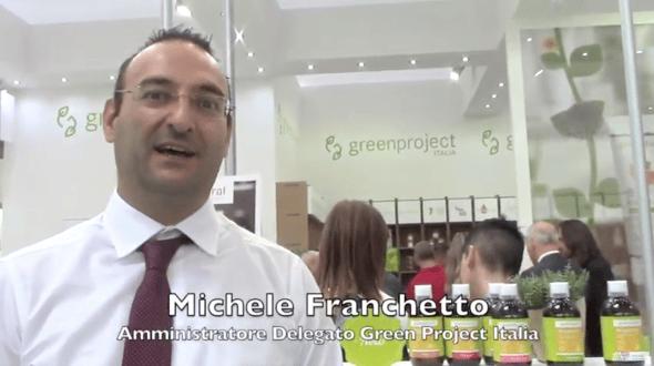 Michele Franchetto, Amministratore Delegato di GreenProject Italia