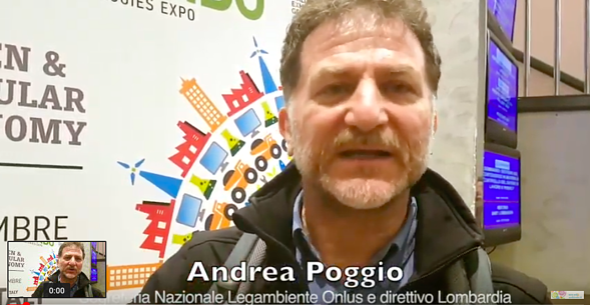 Andrea Poggio, Legambiente Keyenergy
