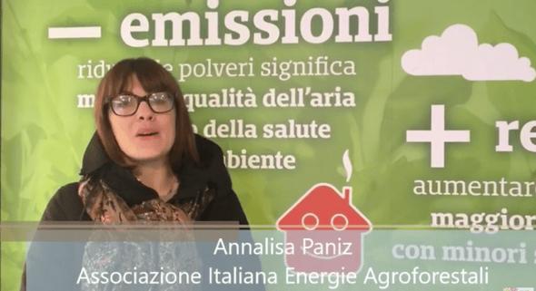 Annalisa Paniz, coordinatrice del progetto Aria Pulita, Aiel
